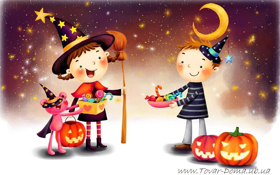 К празднику Halloween акции магазина