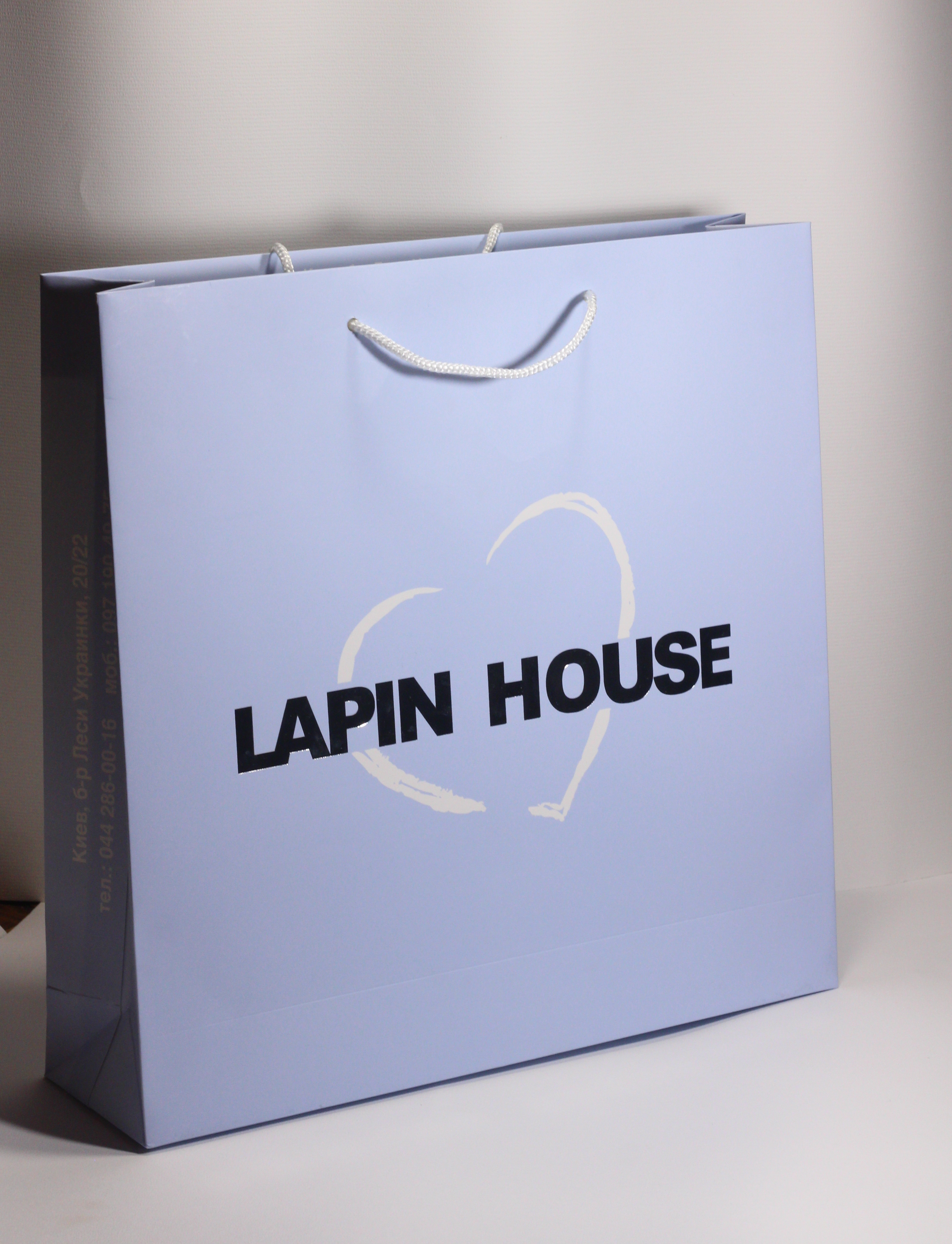 Дизайнерські пакети з логотипом на замовлення