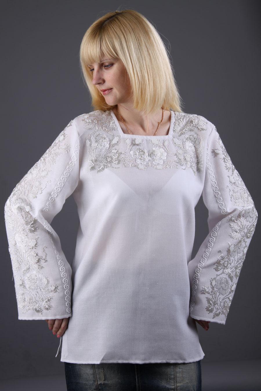 Белая вышиванка от «Ярина»