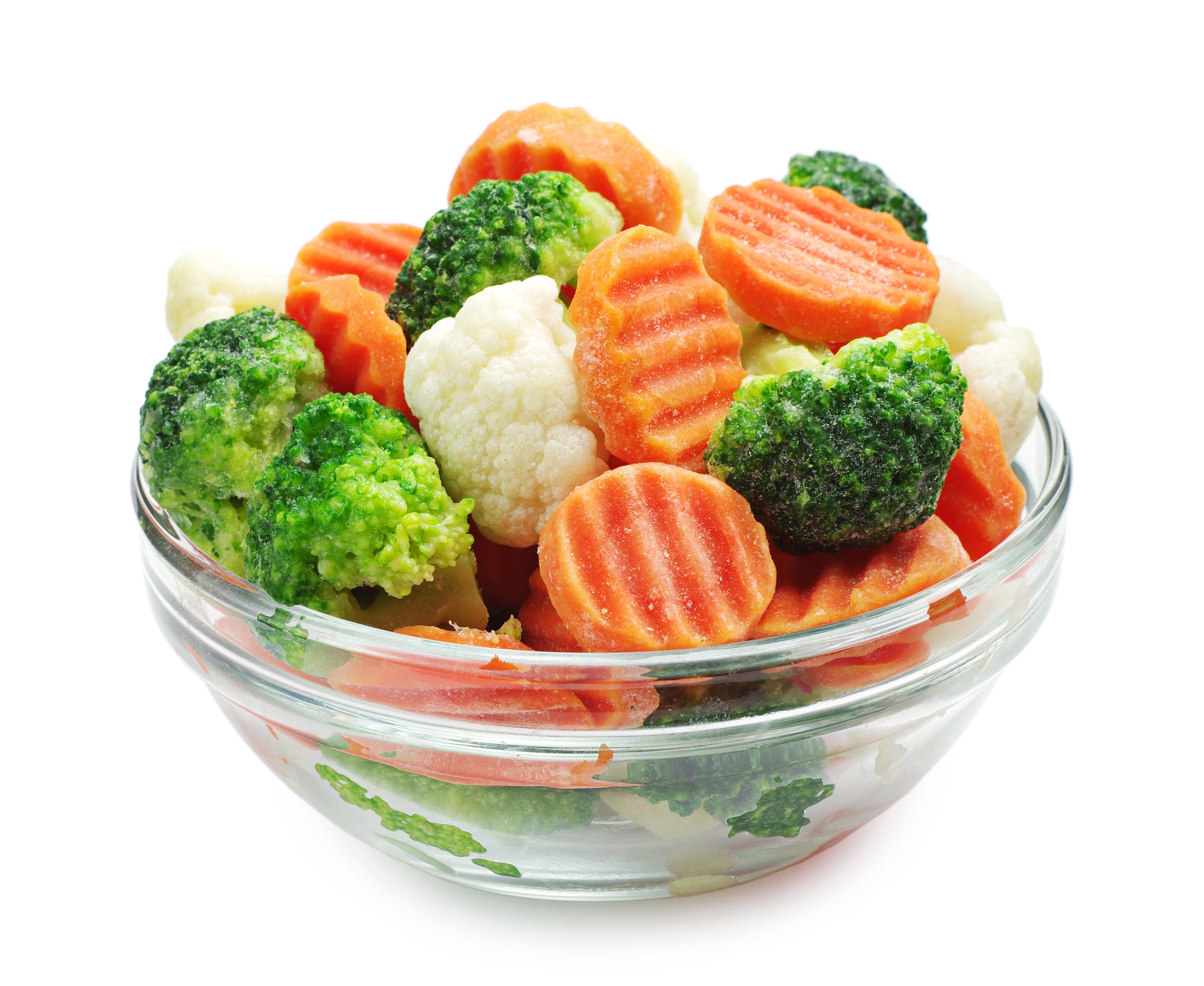 Заморожені овочі оптом замовити