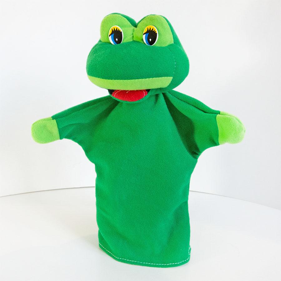 Іграшка-рукавиця «Жаба», купити недорого