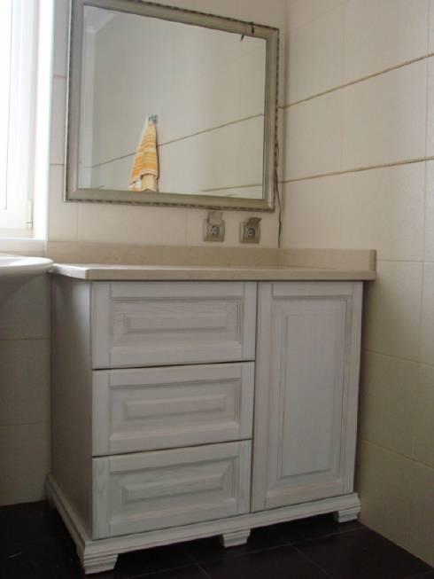Меблі для ванної за індивідуальними розмірами ціна