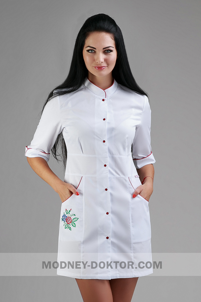 Модные медицинские халаты по приятной цене