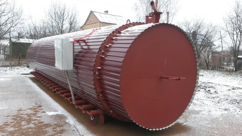 Камери для технічної обробки деревини від ТОВ «Термотех»