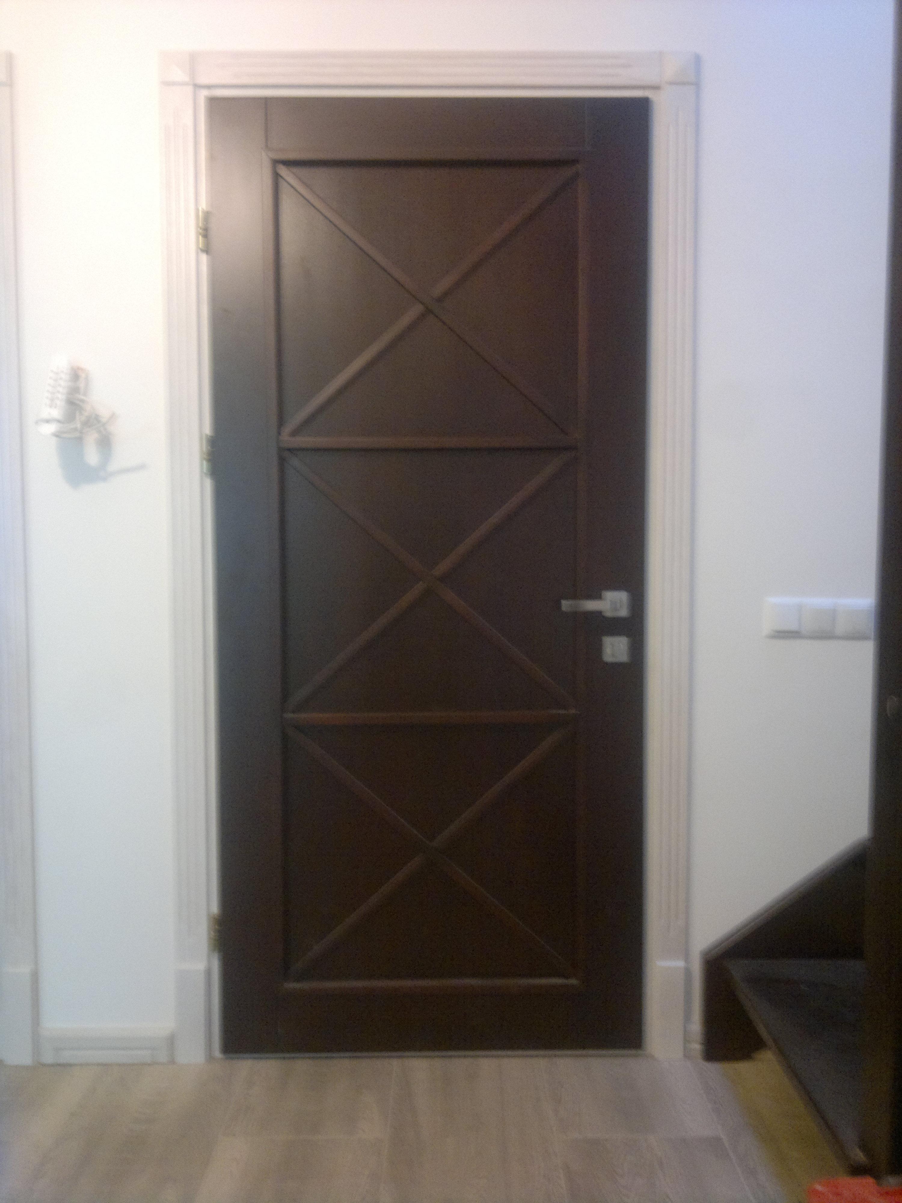 Купить межкомнатные двери без окошек