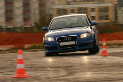 Урок экстремального вождения - автошкола (Луцк)