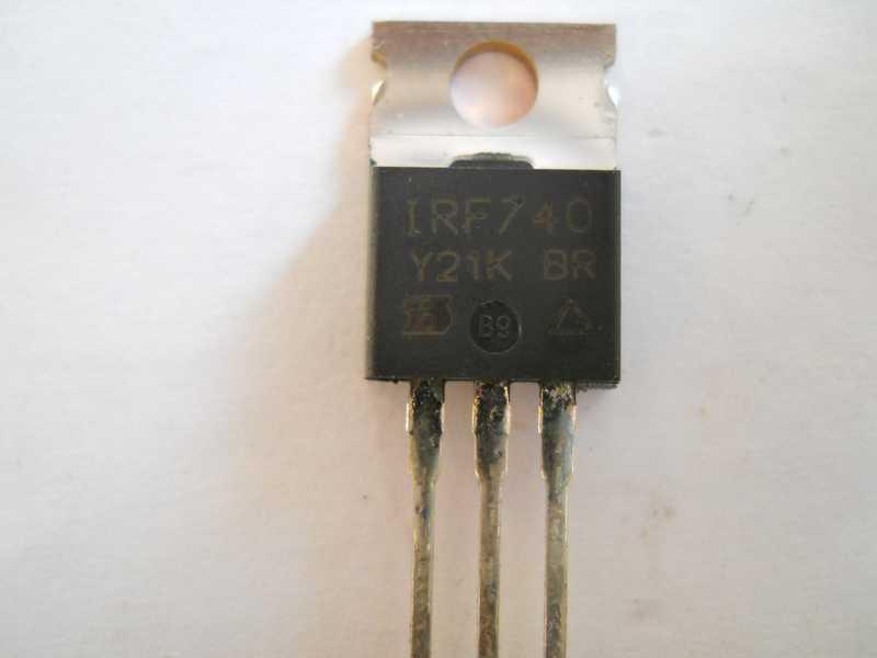 Полевой транзистор IRF740 купить недорого
