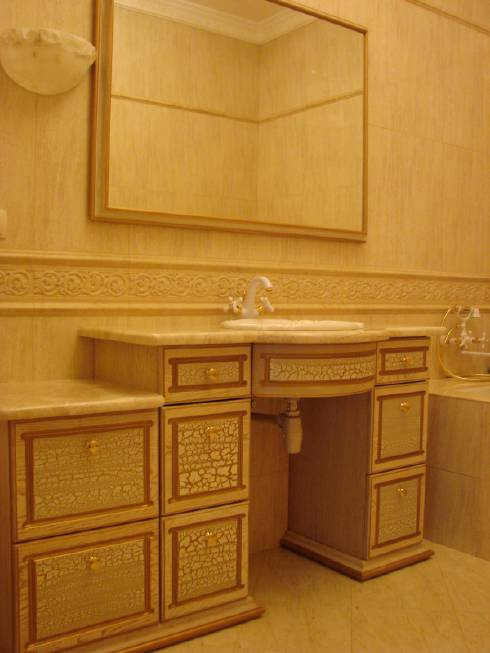 Изготовление мебели для ванной комнаты в Украине