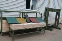 Обладнання для виробництва гумової плитки і гумових підлогових покриттів