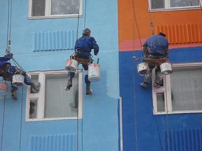 Утеплення фасаду будинку і фарбування за вигідною ціною!