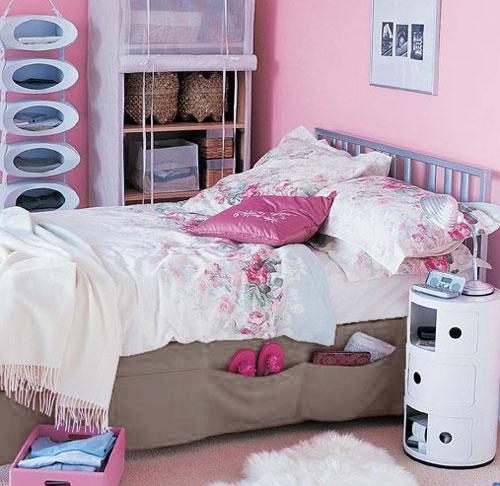 Купити підзор для ліжка з кишенями - опт (Чернігів)
