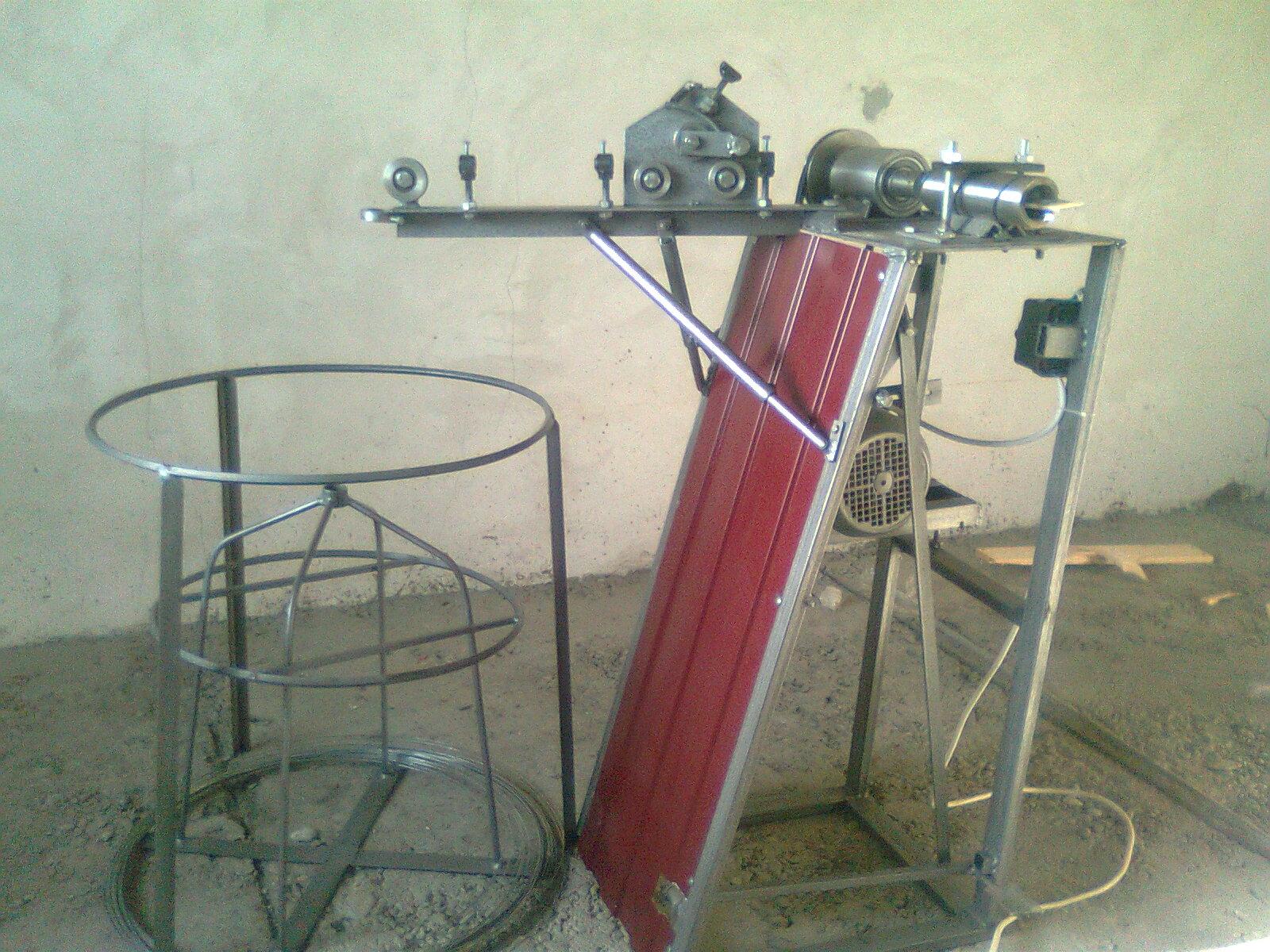 Станок для изготовления сетки рабицы своими руками схема 645