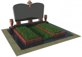 Виготовляємо подвійні пам'ятники з граніту (Волинська область)