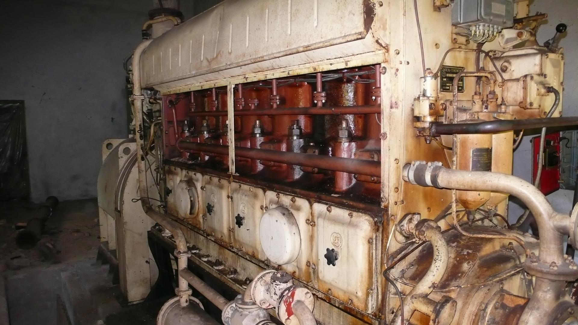 В наявності генератор 315 кВт