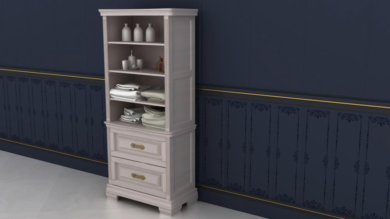 Мебель для ванной комнаты на заказ из натурального дерева