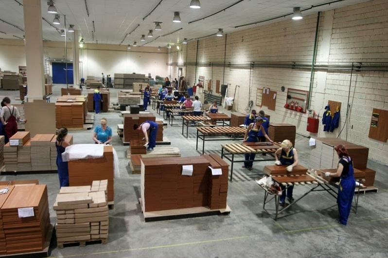 Работа на заводе в Чехии: производство мебели