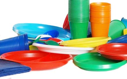 Одноразовий посуд для десертів та інших продуктів харчування