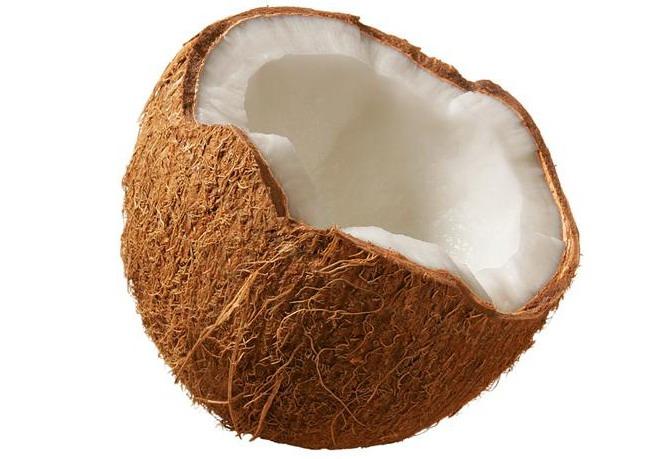Натуральне кокосове масло для волосся