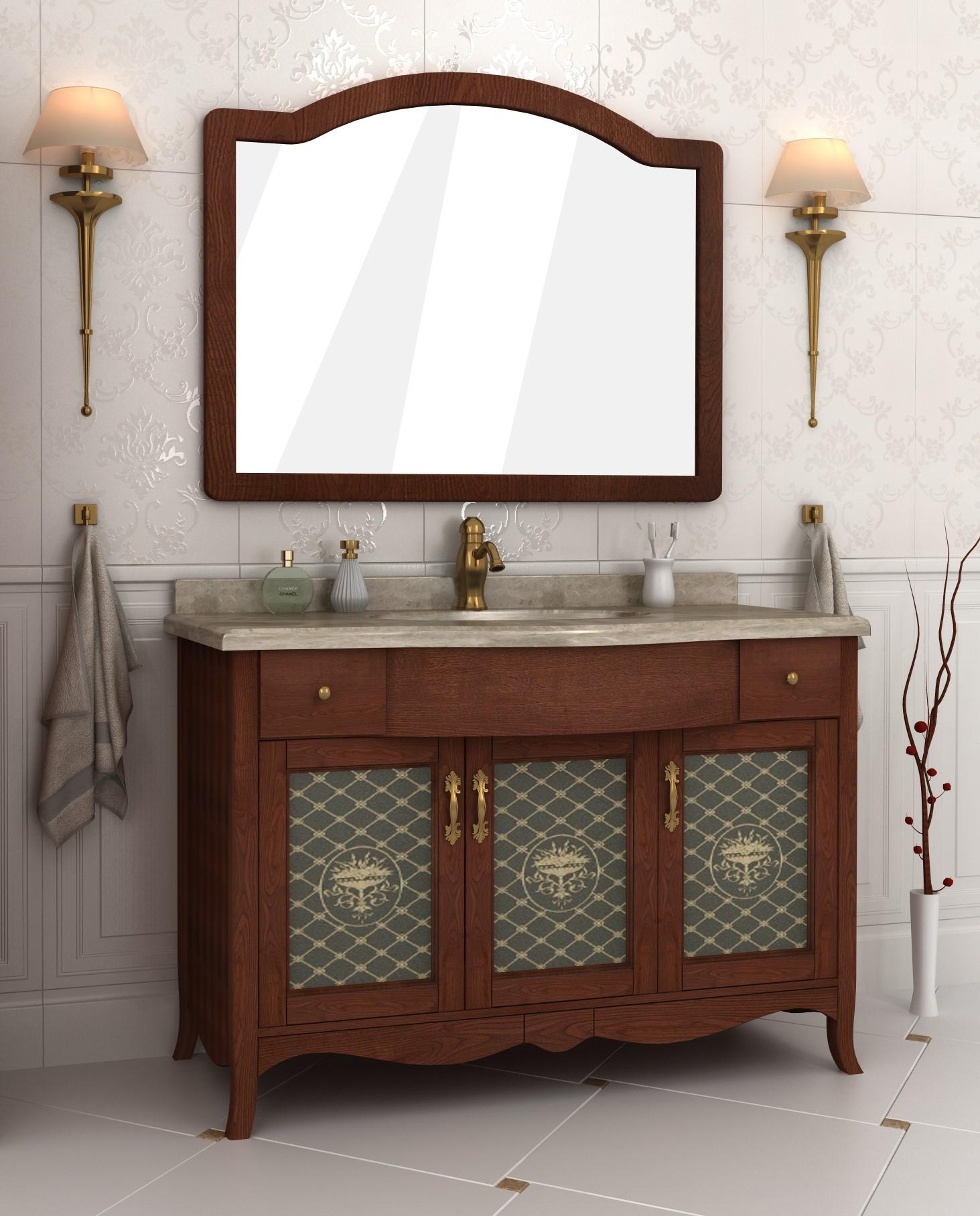 Мебель для ванных комнат с художественной росписью