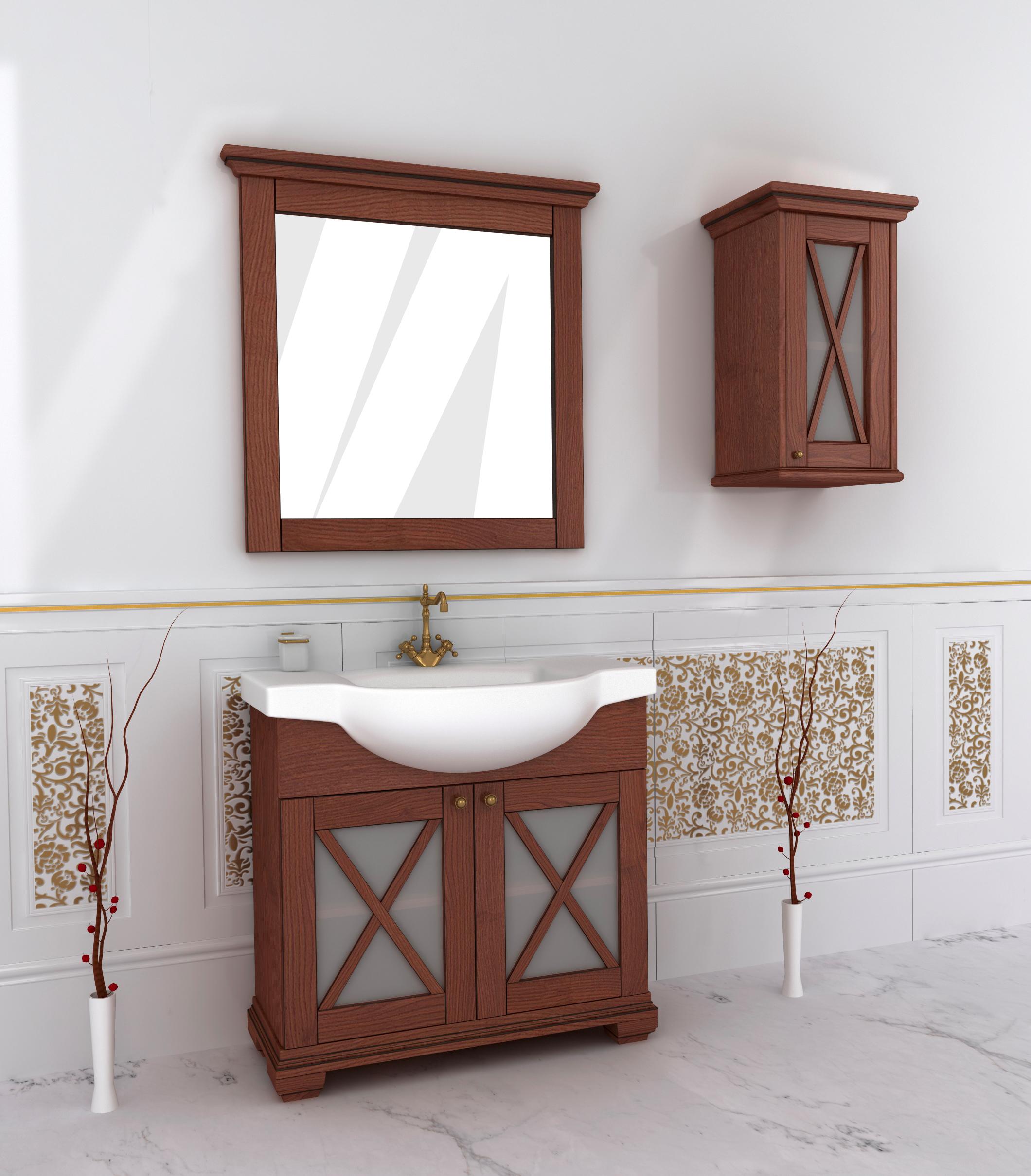 Меблі для ванної з дерева купити недорого