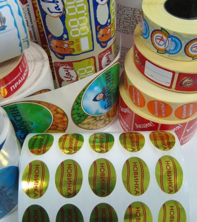 Замовити термоетикеткиз якісним друком Україна