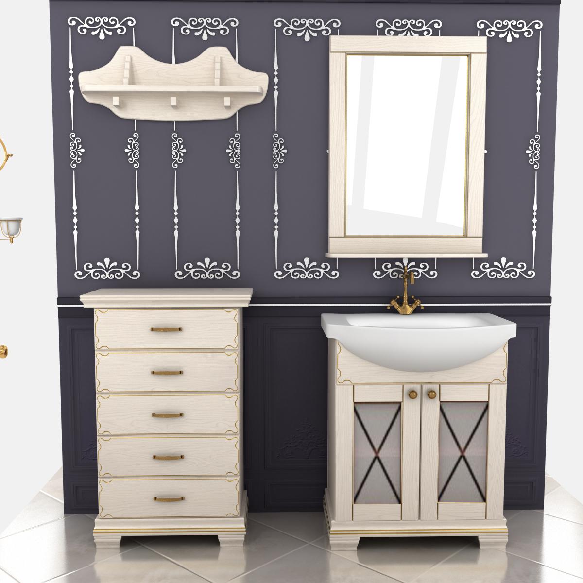 Мебель в ванную на заказ Киев по доступным ценам