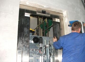 Монтаж лифтового оборудования недорого