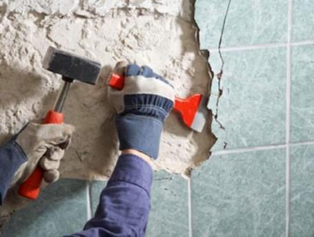 Замовити демонтаж плитки недорого