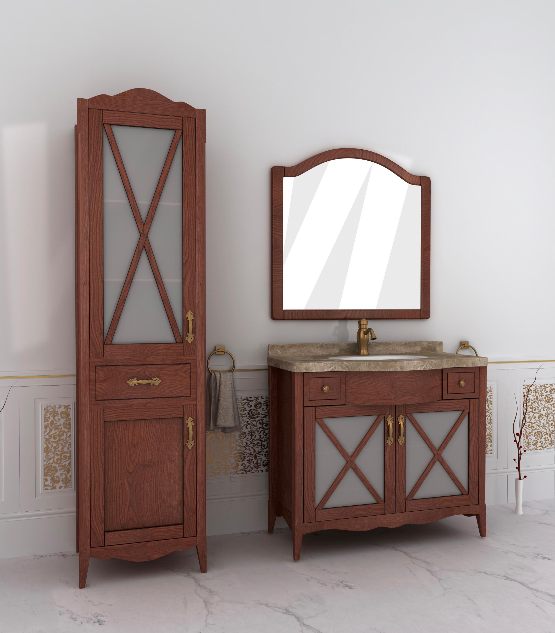 Мебель для ванной из массива купить по выгодной цене