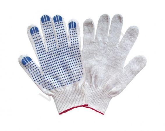 Трикотажные рабочие перчатки оптом