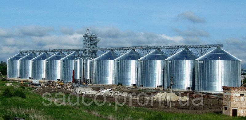 Надежные металлические зернохранилища с гарантией от САДКО