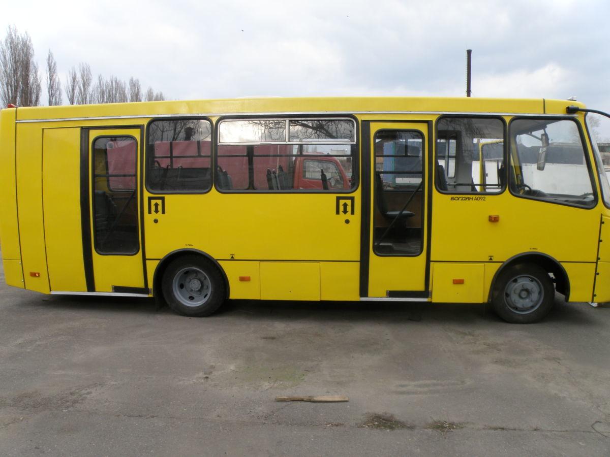Осуществляем ремонт автобуса Богдан по Украине