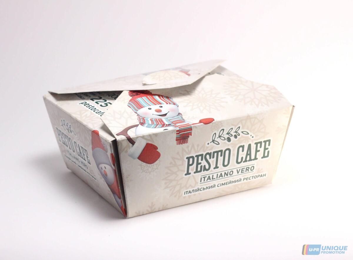 Замовляйте виготовлення коробок з логотипом фірми за низькими цінами!
