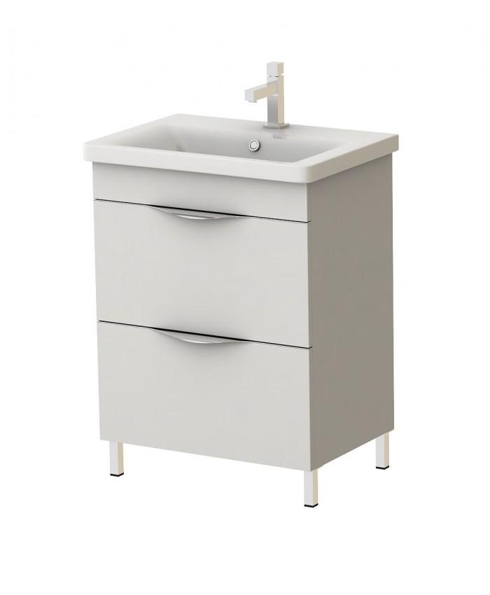 Белый шкафчик в ванную комнату купитьнедорого