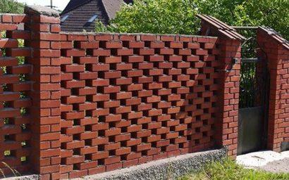 Огорожі з цегли — будуємо у Луцьку, ексклюзивність - гарантована