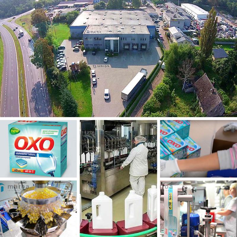 Робота в Польщі на заводі з виробництва миючих засобів