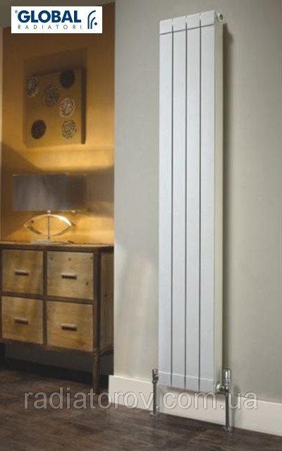 Вертикальные алюминиевые радиаторы - красота и тепло Вашего дома