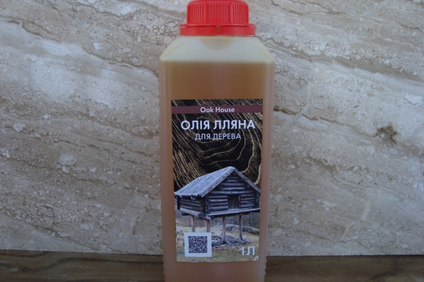 Льняное масло с воском от украинского производителя!
