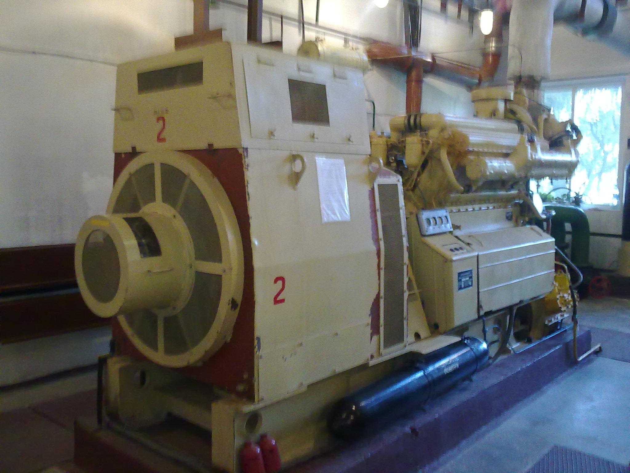 Замовити генератор 500 кВт