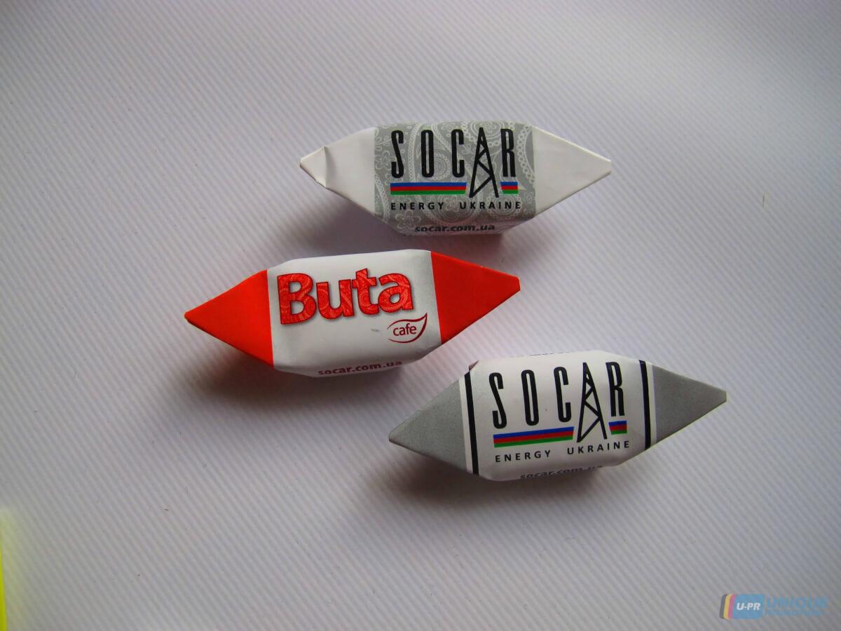Замовити солодкі подарунки з логотипом для фірми