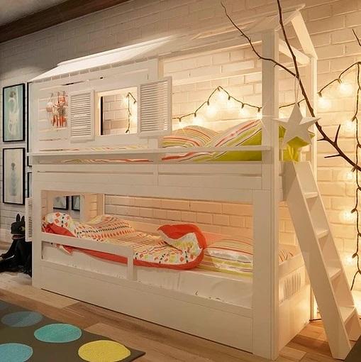 Новая модель кровати домик