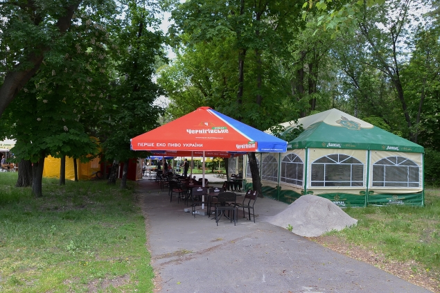 Купити пивну палатку для вуличної торгівлі