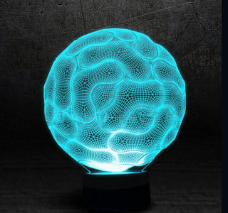 В продаже 3d светильник Селла, абстракция