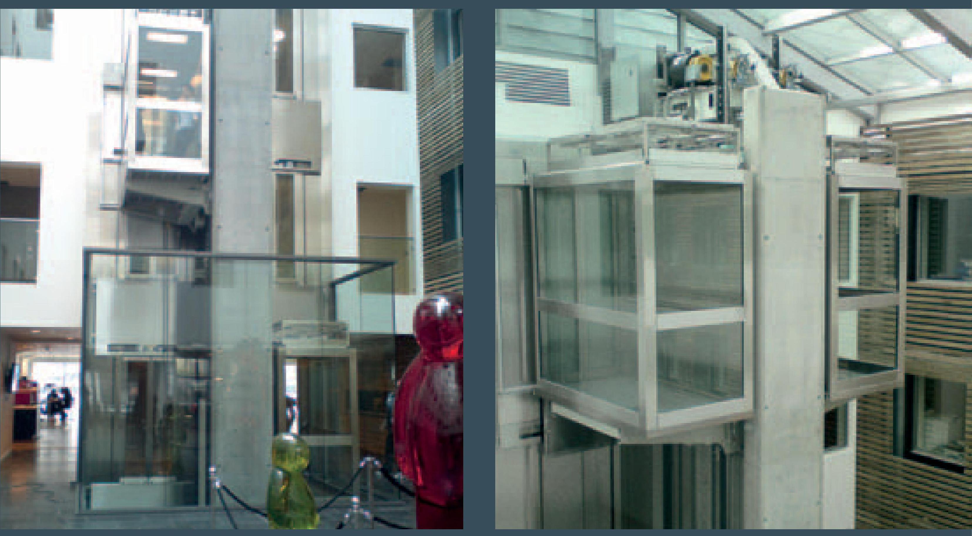 Ліфт пасажирський без м\п для житлових і офісних приміщень JADE 400