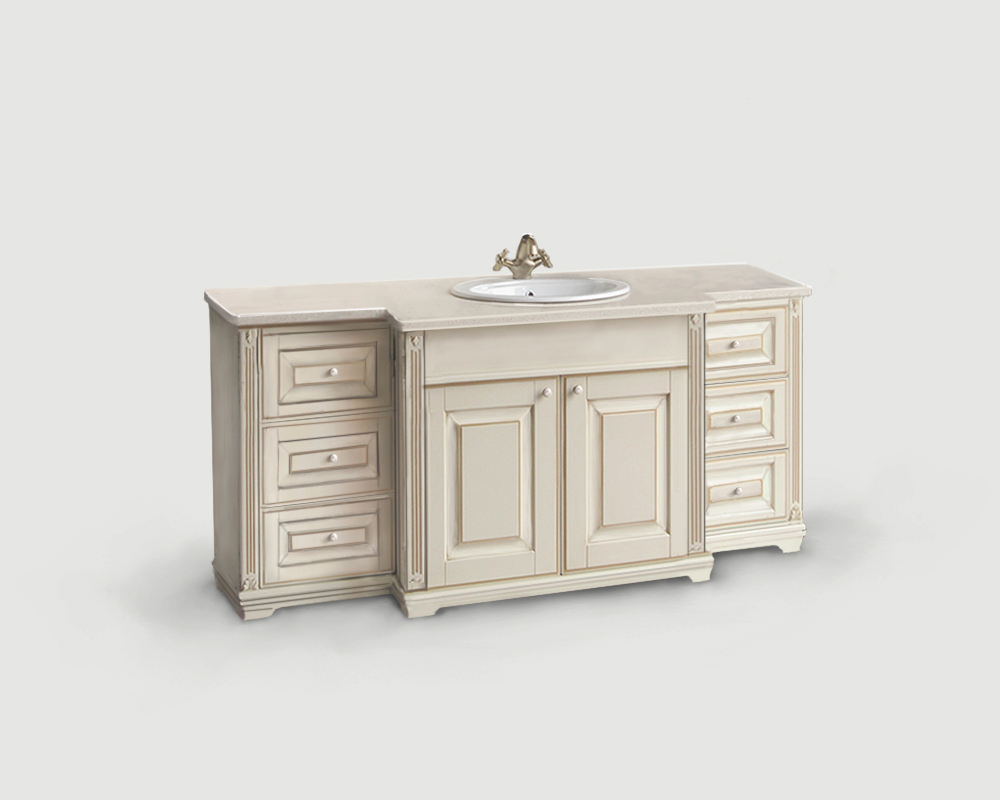 Мебель для ванных комнат с резьбой на заказ