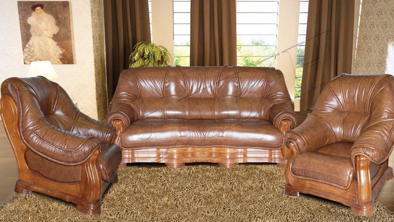 У нас можно приобрести кожаные диваны недорого