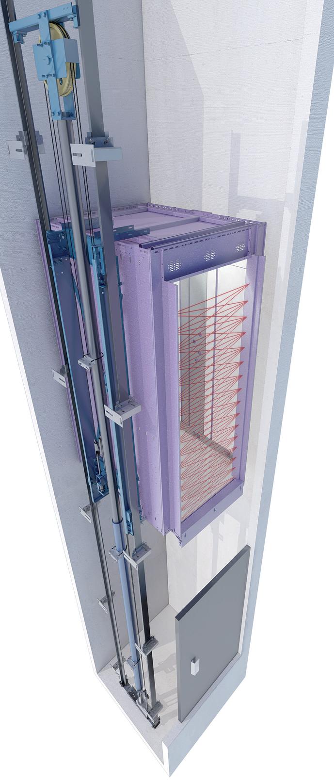Коттеджный лифт EFR, ремонт лифтового оборудования