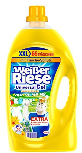 Самый эффективный немецкий оригинальный гель для стирки Weisser Riese