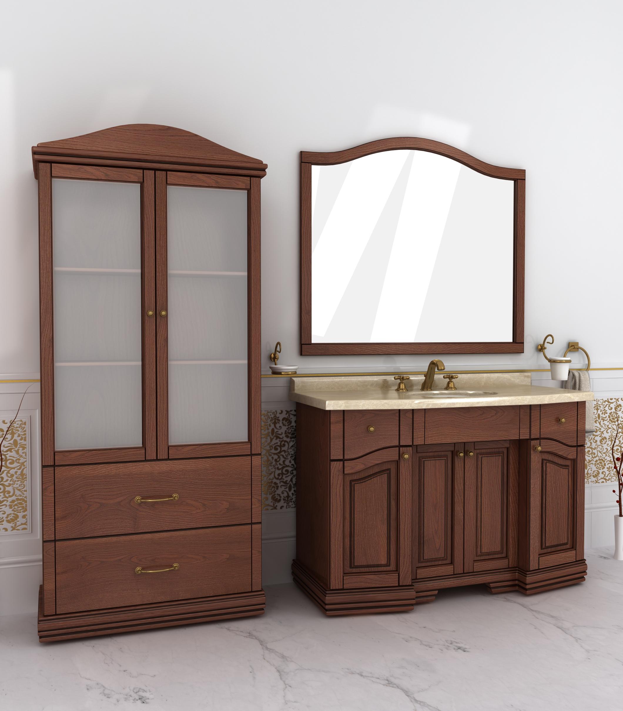 Предлагаем мебель для ванной комнаты по индивидуальным размерам