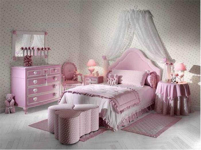 Красиві ліжка для дівчаток від Малко